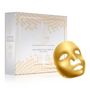 Anti-Aging 12 Piece Mask Set (6- Oxygen & Vitamin E Booster/6-Cell Renewal Collagen Masks)